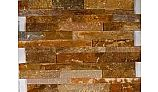 Natural Stone Ledger Panel 6x24 | Desert Gold | Quartzite