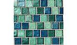 National Pool Tile Aquascapes 1x1 Glass   Aquamarine   OCN-AQUAMARINE
