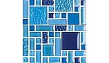 National Pool Tile Fusion Mosaic Glass Tile | Royal Blue | FS-ROYAL