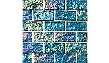 National Pool Tile Lightwaves Glass Tile | Aquamarine 1x2 | LWV-AQUAMARINE1X2