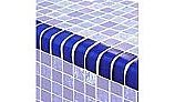 Artistry In Mosaics Twilight Series Trim Glass Tile | Royal Blue | TRIM-GT82348B9
