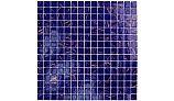 Artistry In Mosaics Venetian Series 3/4x3/4 Glass Tile | Cobalt Blue Copper Blend | GV42020B4