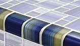 Artistry In Mosaics Watercolors Series 2x2 Trim Glass Tile | Blue | TRIM-GW8M2348B10