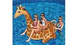 Swimline Giant Giraffe Inflatable Ride-On Pool Toy | NT293