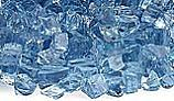 American Fireglass One Fourth Inch Classic Collection | Blue Fire Glass | 10 Pound Jar | AFF-PABL-J