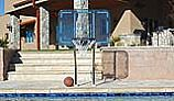 "Inter-fab Pro Style Basketball Game Set | 18"" Offset Post 