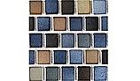 National Pool Tile Mix 1x1 Series | Blue Brown Blend | MIX-BLUE BAY