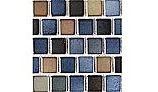 National Pool Tile Mix 1x1 Series | Blue Brown Blend | MIX-BLUE BAY