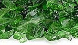 American Fireglass Small Recycled Glass Collection | Light Green Fire Glass | 10 Pound Jar | CG-LTGREEN-J