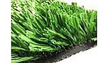 EasyTurf EasyPlay Sports Turf Artificial Grass | Field Green with Polyethylene Slit-Film | 15'x1' Increments | GF-PLAY