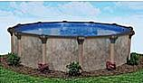 "Coronado 18' Round Above Ground Pool | Basic Package 54"" Wall | 167934"