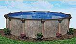 "Laguna 24' Round Above Ground Pool   Basic Package 52"" Wall   168012"