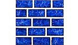 National Pool Tile Tropics 1x2 Series | Cobalt | TRO-COBALT BRK