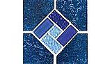 National Pool Tile Trident 6x6 Deco | Indigo | TRD-ABYSS DECO