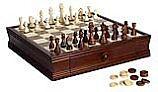 Hathaway Prodigy Wood Chess & Checkers Set | NG2110 BG2110