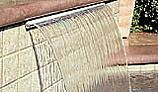 """Jandy Sheer Descent Cascade 4' Waterfall with 1"""" Clear Lip 