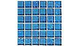 "Artistry In Mosaics Galaxy Series Blue | 1"" x 1"" | GG82323B17"