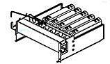 Raypak 337 IID Burner Tray with Burner | 010345F
