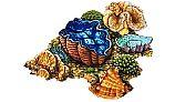 Porcelain Mosaic Coral | Reef Scene D | PORC-CR30D