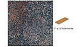 National Pool Tile Silverstone 3x12 Single Bullnose Pool Tile | Ocean Blue | SVRBLUE SBN