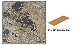 National Pool Tile Verona 3x12 Single Bullnose Pool Tile | Tavora Tan | VR682 SBN