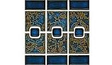 National Pool Tile Luciana Series Pool Tile | Terra Blue | LC-2440S