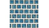 National Pool Tile Mini Koyn Series | Pacific Blue | MK1341