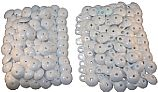 Rocky's Reel Systems 2pc 1.5-in Plastic Grommets | Pack of 100  | 554