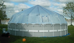 Pool Supply Unlimited Above Ground Pool Domes