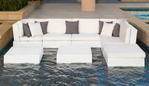 Ledge Lounger Sectionals