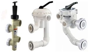 Pentair & Sta-Rite Filter Backwash Valves