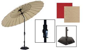 Canton Round Umbrellas
