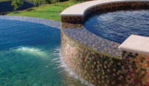 Glass Pool Tiles