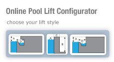 Online Pool Lift Configurator